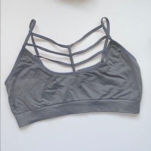 Victoria's Secret cage light support sports bra